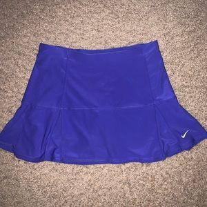 Purple Nike Tennis Skirt